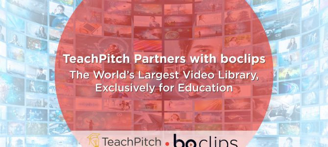TeachPitch Partners with boclips