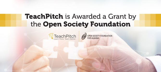 TeachPitch Receives Grant from the Open Society Foundations
