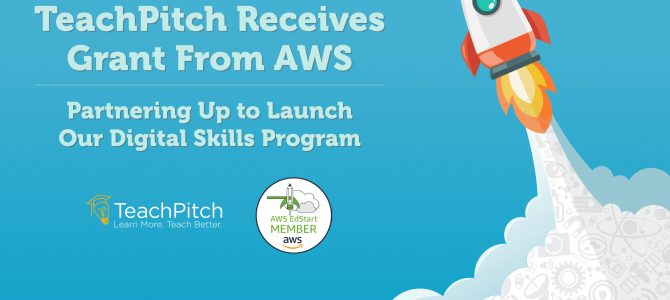 TeachPitch Receives Grant from AWS